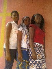 Les filles de l'école du Dimanche